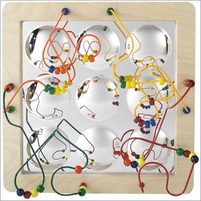 Anatex Mirror Sculpture Maze - Panel Wall Toy Activity