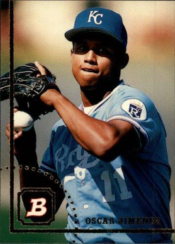 1994 Bowman Baseball Rookie Card #583 Oscar Jimenez Mint