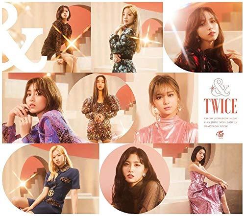 TWICE(첫 한정반B) CD+DVD,한정판 (특전없음)
