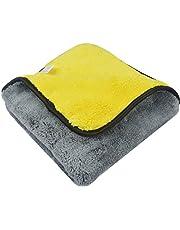 Sinland Microfiber Car Cleaning Cloths Plush Thick Car Waxing Polishing Towels Car Wash Cloths 720gsm