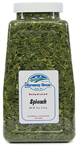 Harmony House Foods, Dried Spinach, Flakes
