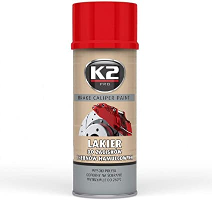 Pintura Anticalorica Rojo Pintura Para Pinzas De Freno K2 Pro Spray 400ml Amazon Es Coche Y Moto