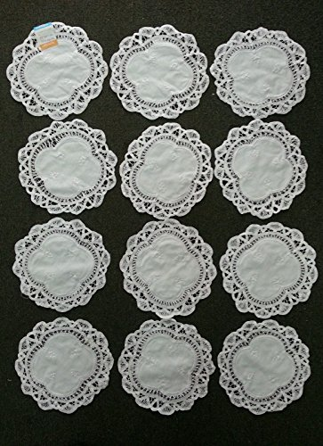 Battenburg Lace Doilies 100% Cotton Approximately 8