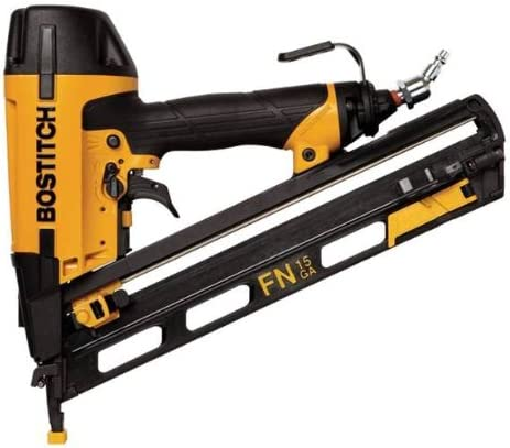 BOSTITCH Finish Nailer, Angled, 15GA, 1-1 4-Inch to 2-1 2-Inch N62FNK2