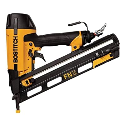 Image of Home Improvements BOSTITCH Finish Nailer, Angled, 15GA, 1-1/4-Inch to 2-1/2-Inch (N62FNK2)