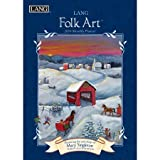 The classic collection of Mary Singleton's folk art decorates every month of the LANG Folk Art 2018 Monthly Planner! These charming pieces of art speak of a love of family and community depicting small rural towns of days past as the townspeo...