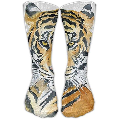 Tiger Face Crew Socks Sport Socks Long Socks Soccer Socks 11.2