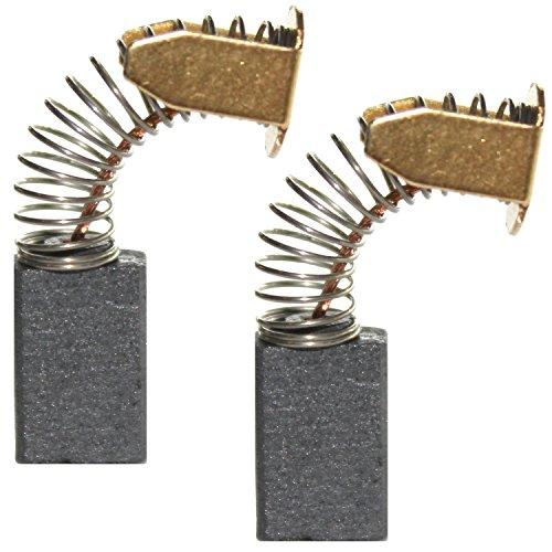 2 mm cb-430 Balais Charbon Pour Makita Batterie-Scie sauteuse BJV 140 7x7