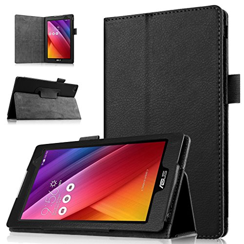 Ultra Slim Case for ASUS ZenPad C 7.0 Z170C 7 inch Tablet (Black) - 8