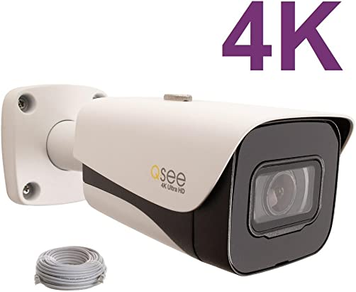 Q-See 4K 8MP HD QC IP Series Bullet Security Camera