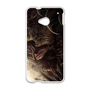 Scary Creative Dinosaur Pattern Hot Seller High Quality Case Cove For HTC M7