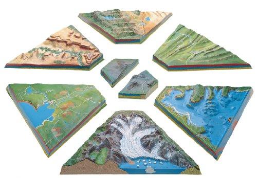 Hubbard Scientific Geological Landform Model