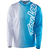 Troy Lee Designs GP Air 50/50 Boy's Off-Road Motorcycle Jerseys - White / Large
