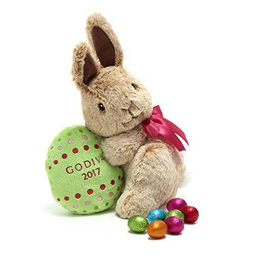 Godiva Chocolatier Limited Edition 2017 Plush Easter Bunny