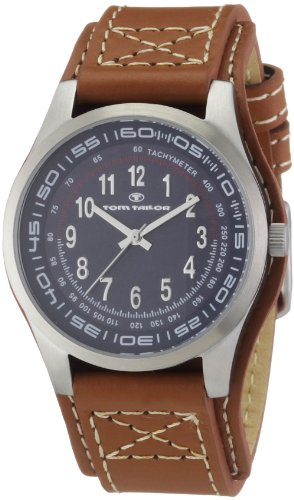 TOM TAILOR Damen-Armbanduhr Analog Leder 5406802