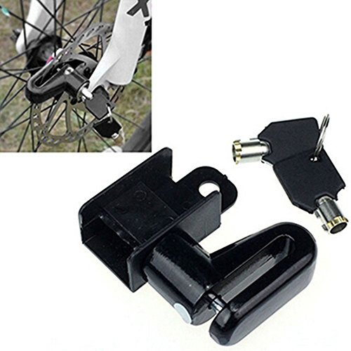 Best Bike Accessories Disk Lock Anti Theft Lock Bike Bicycle Safety Lock For Bicycle Cycling Motorcycle Electromobile (Black) (Primo Seat Bmx)