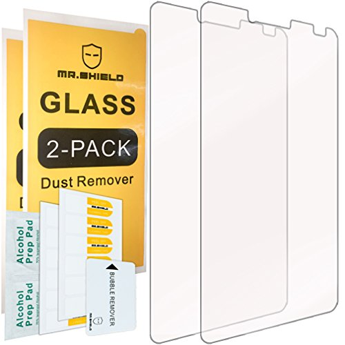 [2-PACK]-Mr Shield For Alcatel OneTouch Fierce XL [Tempered Glass] Screen Protector with Lifetime Replacement Warranty
