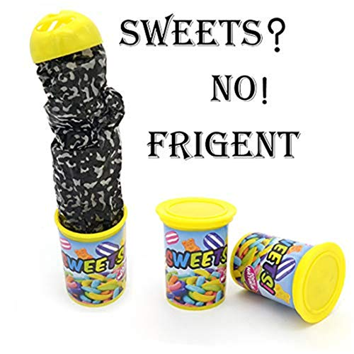 (FD Izmn Spoof Funny Spoof Barrel Scare Small Sweet Candy Scary Toys Funny Party Game Prime Gift for Adults)
