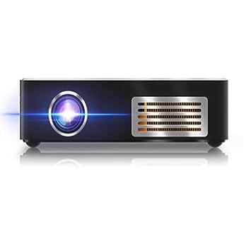 Mini proyector, portátil HD 1080P, proyector de teléfono móvil de ...