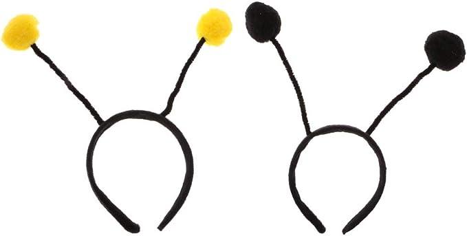 Pack de 2 antenas de insectos para niñas, para niños, diadema ...
