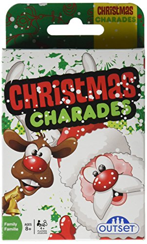 Cobble Hill Christmas Charades Card Game (1 Piece) (Christmas Pictionary)