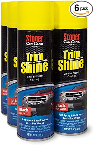 Stoner Car Care 91034-6PK Trim Shine Protectant - 72-Fluid Ounces 6-Pack