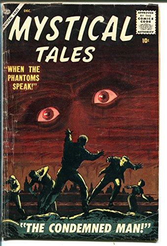 Mystical Tales #4 1956-Atlas-eyeball cover-Reed Crandall-Dick Ayers-Porsche-VG