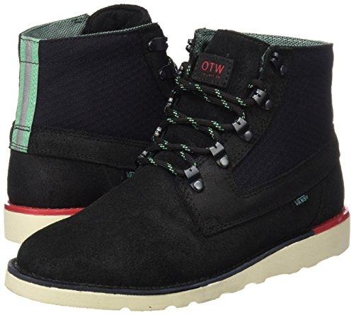 aae24c0b09 Vans Mens Breton Vibram Leather Mid Boot - Black  Amazon.co.uk  Shoes   Bags