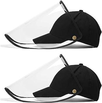 cubierta de cara de moda protectora Gorra anti polvo con visera transparente,Cubierta de boca unisex