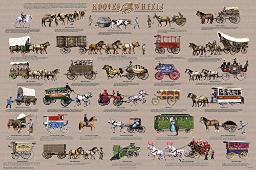 Hooves and Wheels Poster