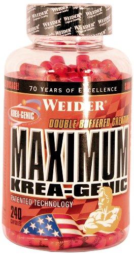Weider Maximum Krea-Genic, 240 Kapseln (1 x 209 g)