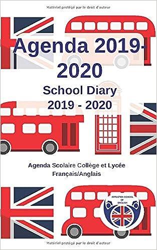 AGENDA 2019 - 2020 : School Diary 2019 - 2020: Agenda ...