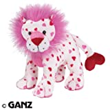 Webkinz Plush Stuffed Animal Love Lion