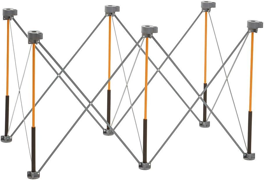 portable CK6S Mesa de trabajo de 6 puntas 2 abrazaderas r/ápidas bolsa de transporte plegable incluye 4 X-Cups Bora Centipede