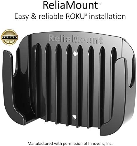 ReliaMount Roku Ultra Mount (Not Compatible with The New Roku Ultra 2020)