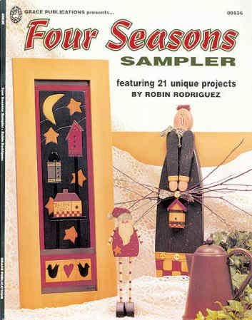 Four seasons sampler: Featuring 21 unique projects Four Seasons Sampler