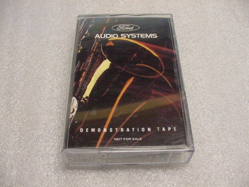 audio-music-cassette-ford-audio-systems-demonstration-tape