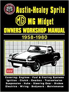 Mg midget owners manual