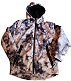 Jordan Big Boys Camo Puffer Jacket, Medium (10/12), White/Black