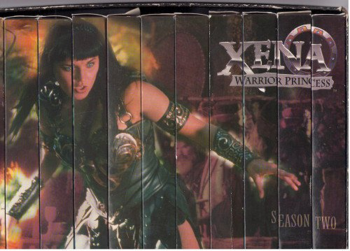 Xena Warrior Princess - Season Two Video Set [VHS]