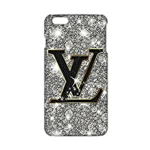 Shiny famous logo LV Phone case for iPhone 6plus