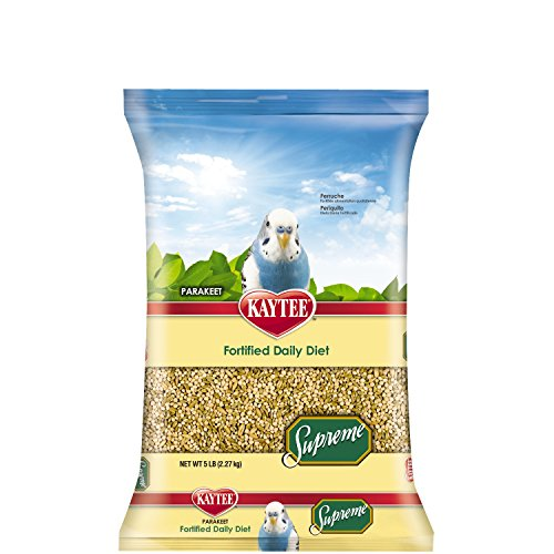 Kaytee Supreme Bird Food for Parakeets, 5-lb bag