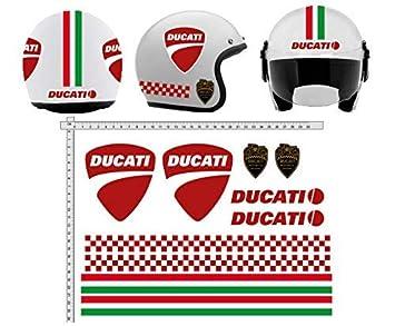 Adhesivos CASCO Kit DUCATI TIRAS ITALIA helmet vinilo PULIDO variados vinilo,para ordenador portátil,