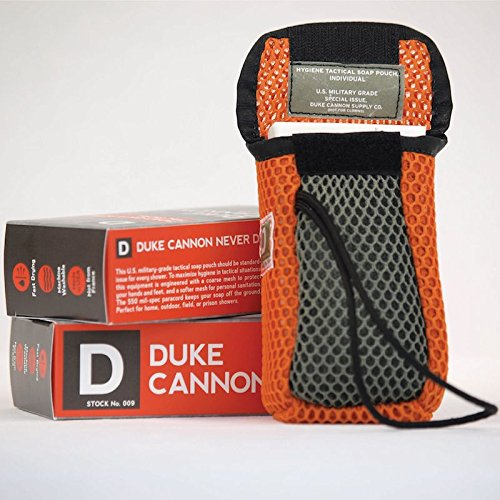 Duke Cannon Tactical Soap On a Rope Pouch - Off Cannon
