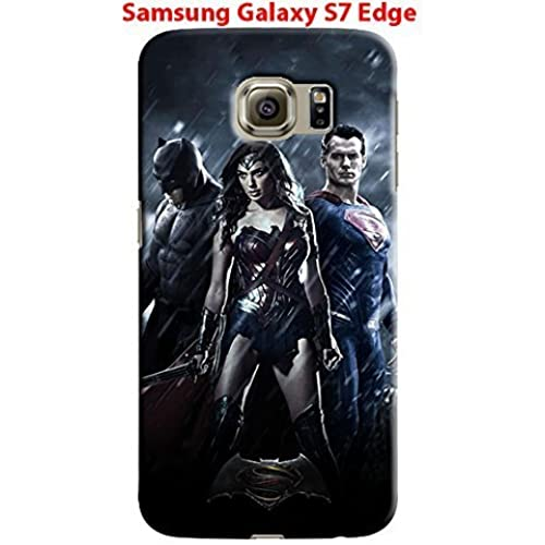 League of Justice for Samsung Galaxy S7 Edge Hard Case Cover (Bat31) Sales