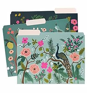 Rifle Paper Co. Shanghai Garden Letter Sized File Folders