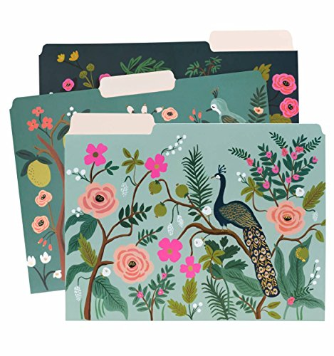Rifle Paper Co. Shanghai Garden Letter Sized File Folders (Оne Расk) ()