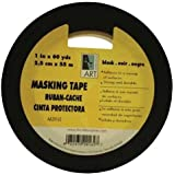 "Art Alternatives Acid-Free Black Masking Tape - 3/4""x60 Yards"