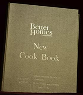 Better Homes And Gardens New Cook Book, 1965 Edition