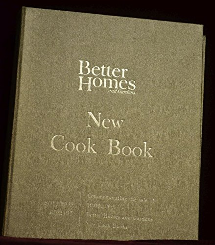 Better Homes and Gardens New Cook Book, 1965 Edition by Meredith Publishing